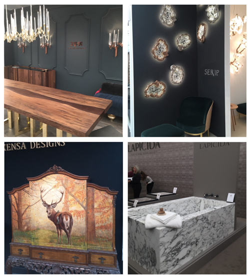 Dazzled at Decorex International